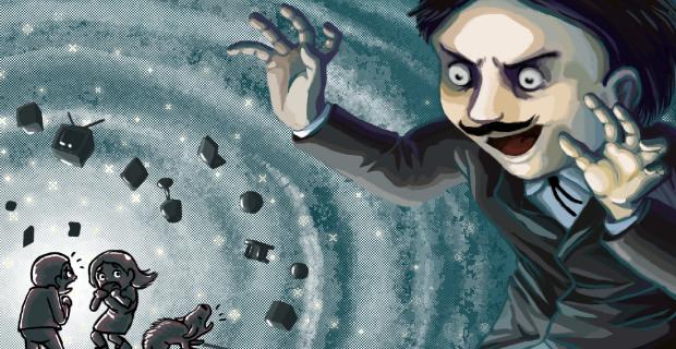 Poltergeist A Pixelated Horror PS Vita