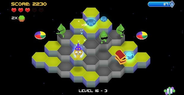 Q*Bert Rebooted PS Vita