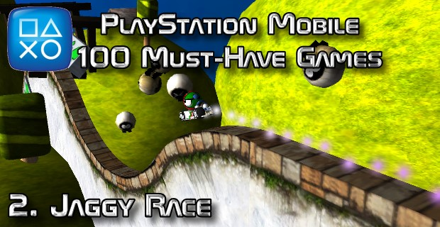 100 Best PlayStation Mobile Games 002 - Jaggy Race