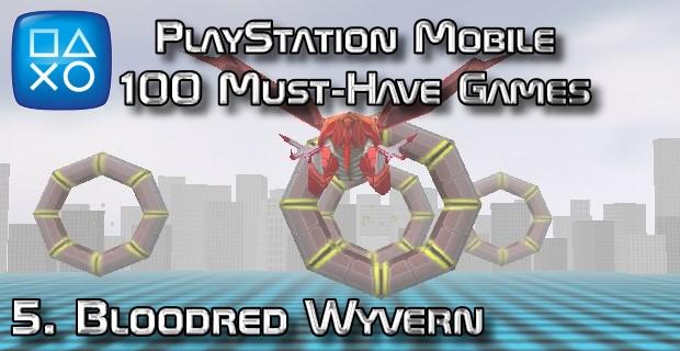 100 Best PlayStation Mobile Games 005 - Bloodred Wyvern
