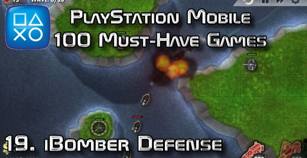 100 Best PlayStation Mobile Games 019 - iBomber Defense