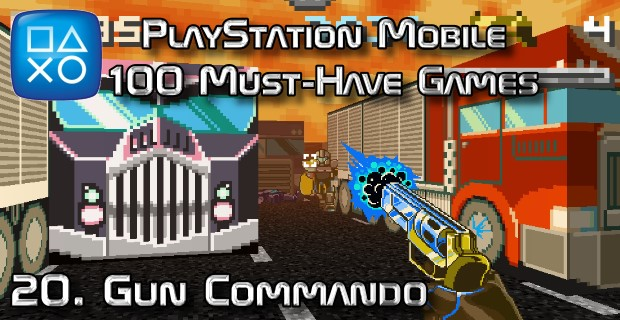 100 Best PlayStation Mobile Games 020 - Gun Commando