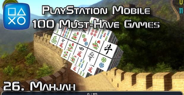100 Best PlayStation Mobile Games 026 - Mahjah