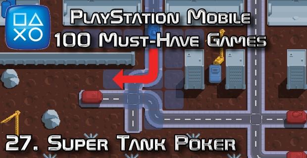 100 Best PlayStation Mobile Games 027 - Super Tank Poker