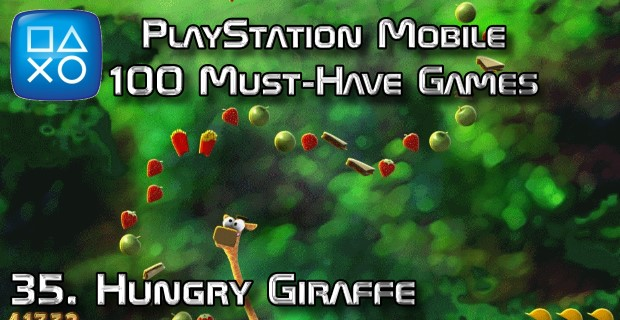 100 Best PlayStation Mobile Games 035 - Hungry Giraffe