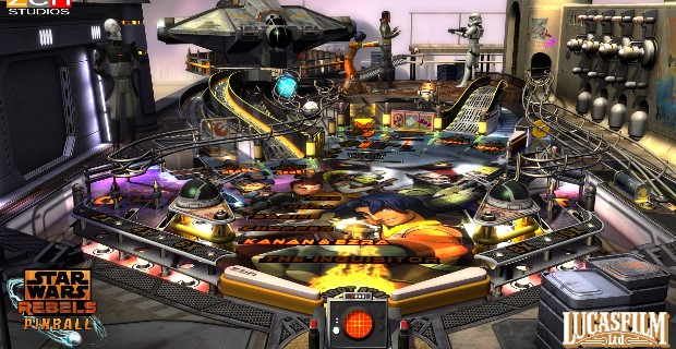 Zen Pinball 2 Star Wars Rebels PS Vita