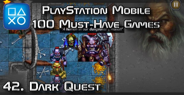 100 Best PlayStation Mobile Games 042 - Dark Quest