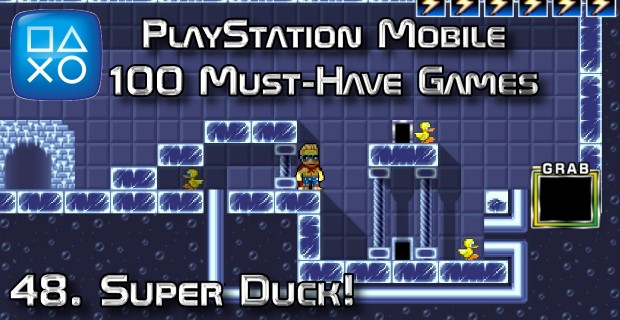 100 Best PlayStation Mobile Games 048 - Super Duck