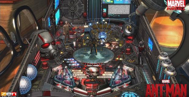 Zen Pinball 2 Ant-Man PS Vita
